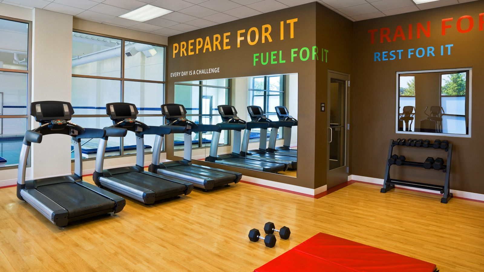 Sheraton Fitness Center at Sheraton St. Paul Woodbury Hotel